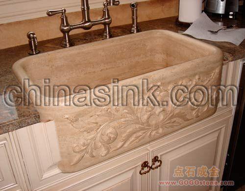 Stone Farmhouse Kitchen Sinks : To Sell stone farm sink/stone kitchen sink/stone farmhouse sink ...