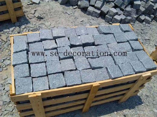 dark grey cobblestone