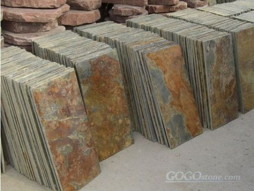 To sell natural slate tiles