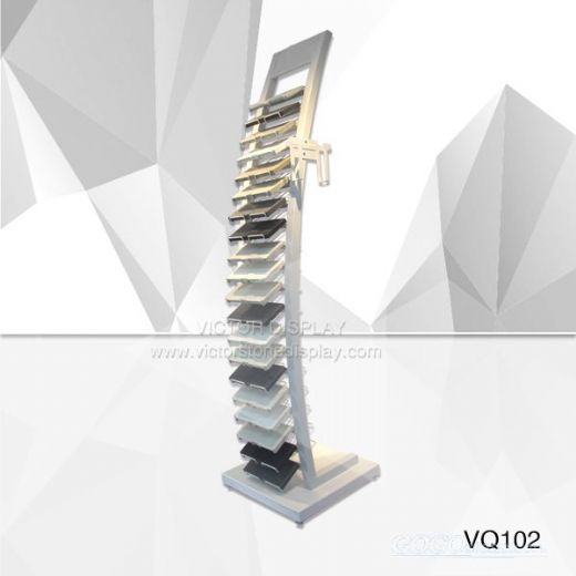VQ102-Granite Sample Display Racks