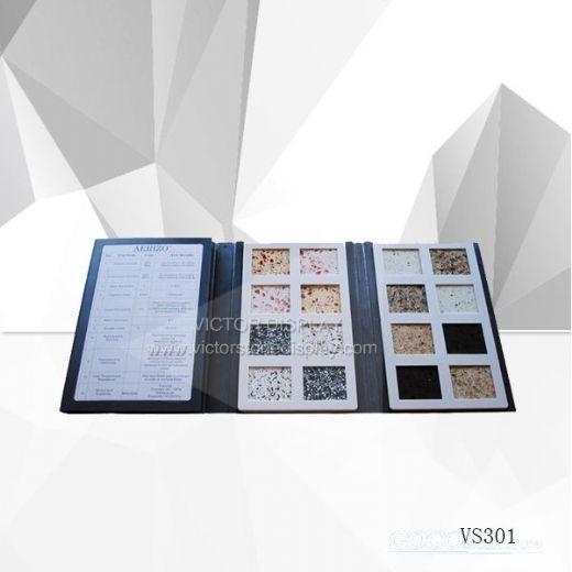 VR401 Quartz Stone Sample Books