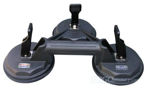 TRIPLE SUCTION LIFTER, AARDWOLF: glass lifting equipment, glass clamp, clamp, glass lifter, glass to