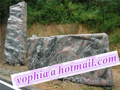Natural stone landscape
