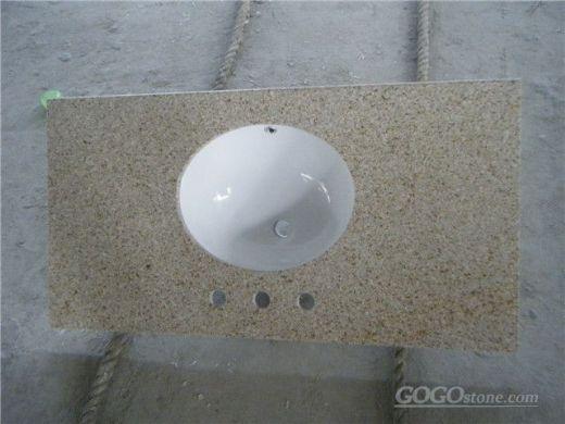 G682/Sunset Gold Granite Kitchen Countertops/ Kitchen Worktops/Vanity Tops/Custom Countertops, China
