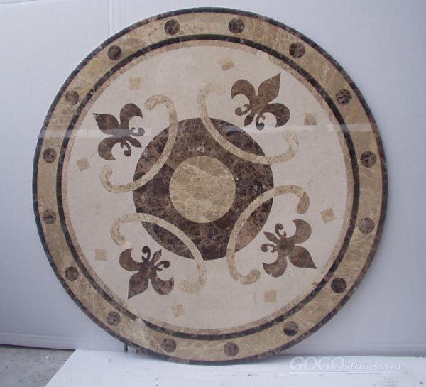 waterjet medallion pattern