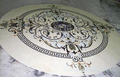 marble medallion carpet