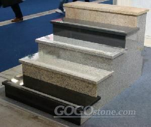 stair step and riser